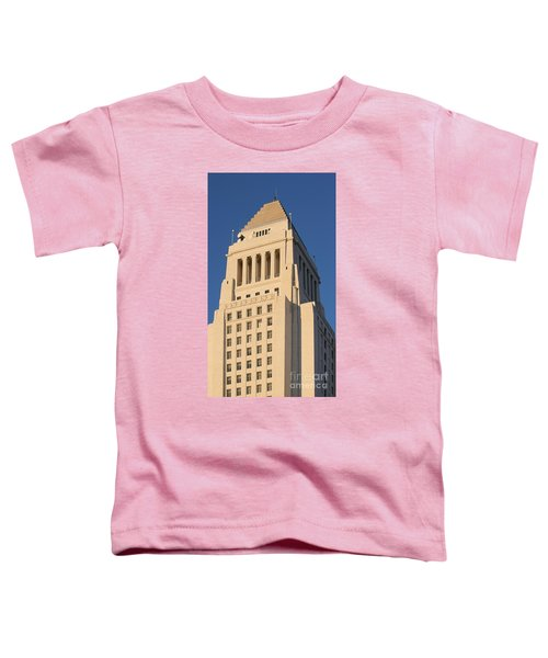 Los Angeles City Hall Toddler T-Shirt