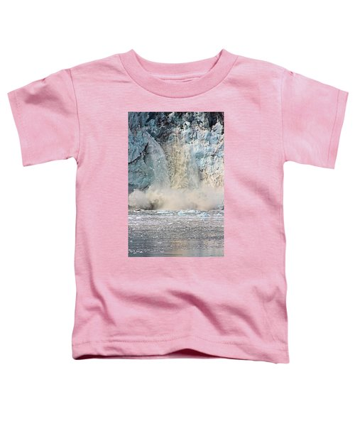 Margerie Glacier Calving Toddler T-Shirt