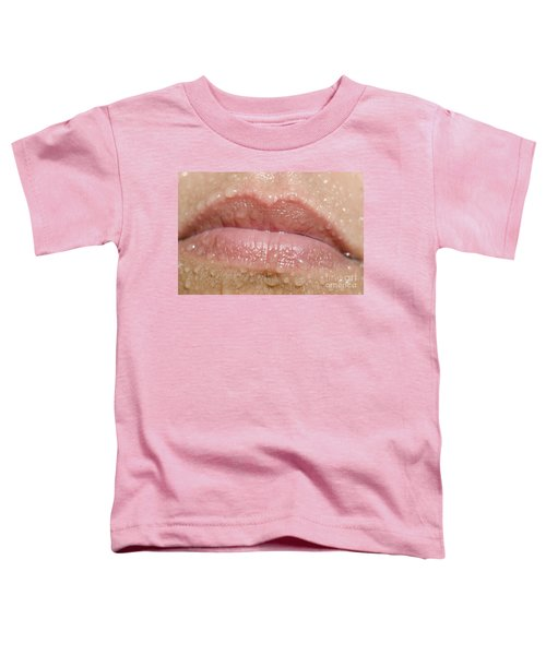 Mouth With Water Drops Toddler T-Shirt