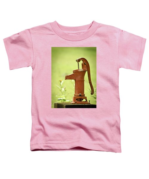Old Fashioned Water Pump Toddler T-Shirt