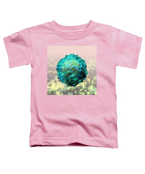 Polio Virus Particle Or Virion Poliovirus 1 Toddler T-Shirt