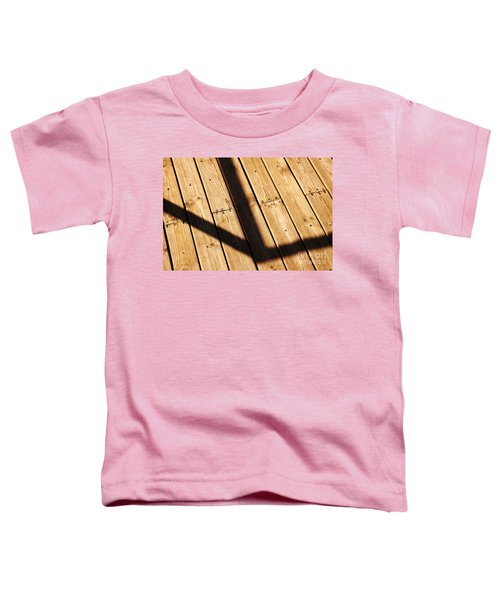 Shaded Walkway Floor Toddler T-Shirt