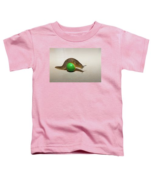 Slug On The Ball Toddler T-Shirt