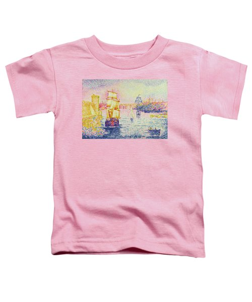 The Port Of Marseilles Toddler T-Shirt