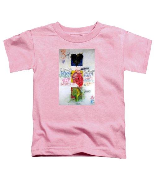 Three Of Hearts 32-52 Toddler T-Shirt