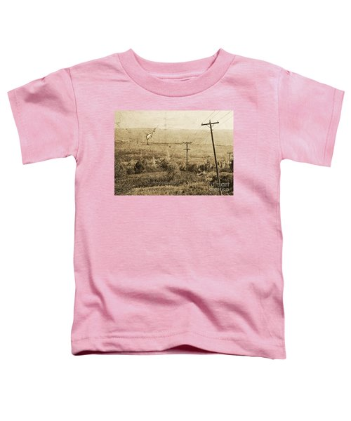 Vintage View Of Ontario Fields Toddler T-Shirt