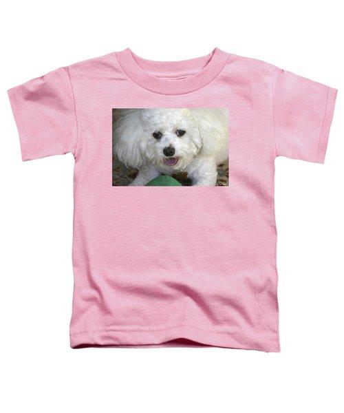 Wanna Play Ball? Toddler T-Shirt