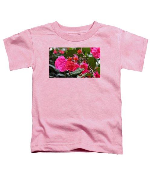 Bougainvillea In The Rain Toddler T-Shirt