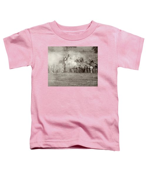Gettysburg Confederate Infantry 7503s Toddler T-Shirt