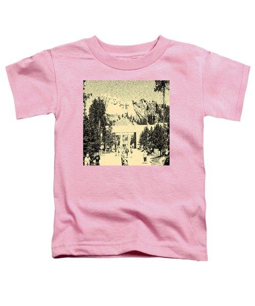 04252015 Mount Rush More Toddler T-Shirt