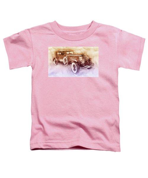 1928 Duesenberg Model J 2 - Automotive Art - Car Posters Toddler T-Shirt