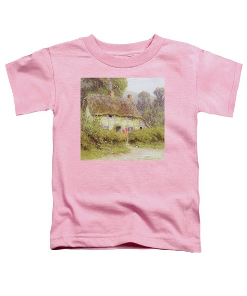 A Country Cottage Toddler T-Shirt