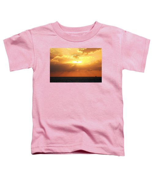 Bahamas Sunset Toddler T-Shirt