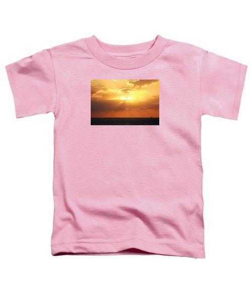 Bahamas Sunset Toddler T-Shirt