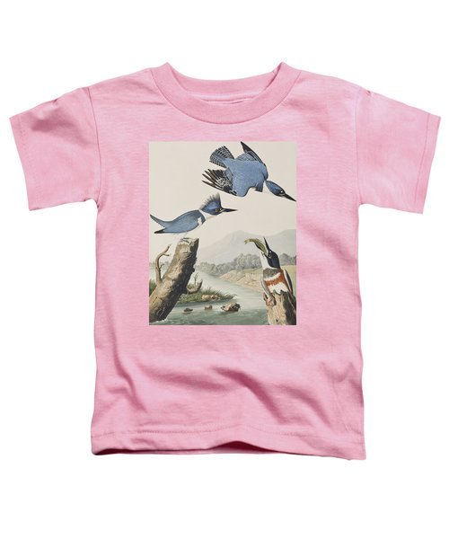 Belted Kingfisher Toddler T-Shirt
