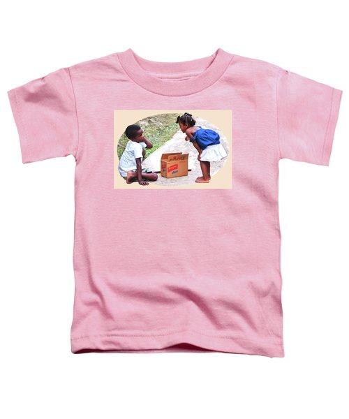 Caribbean Kids Illustration Toddler T-Shirt