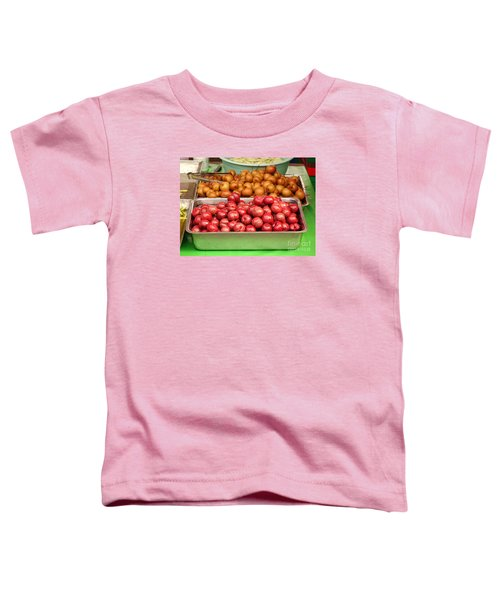 Chinese Plums And Pears Pickled In Sugar Toddler T-Shirt