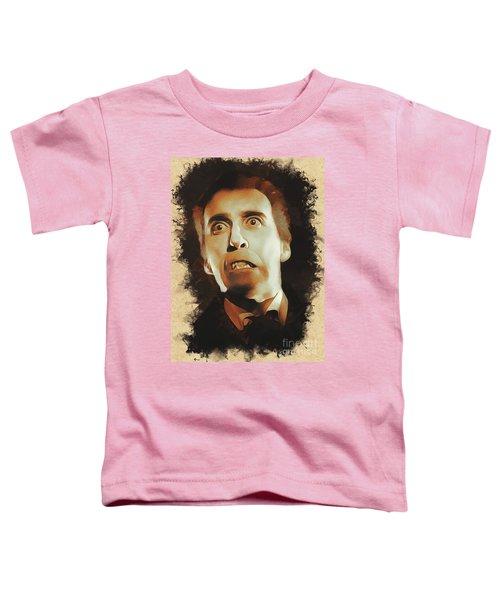 Christopher Lee As Dracula Toddler T-Shirt