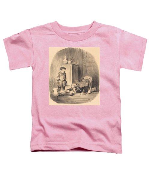 Comment On Donne... Le Goet De La Navigation Toddler T-Shirt