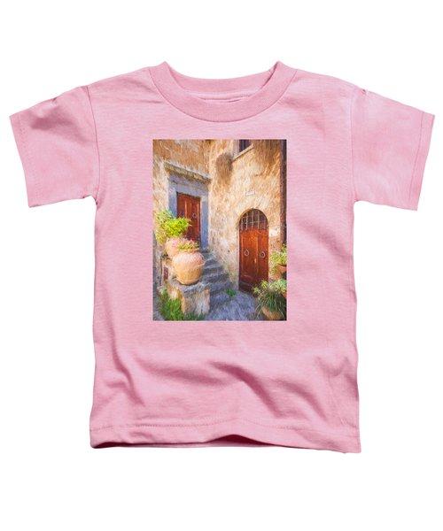 Courtyard Of Tuscany Toddler T-Shirt