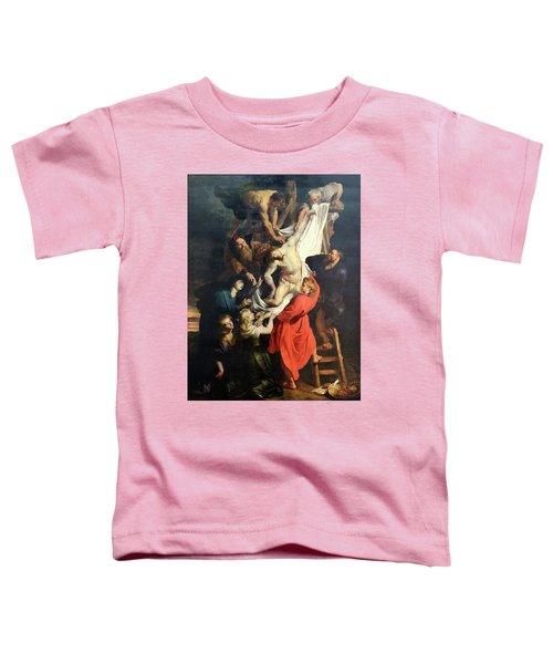 Descent From The Cross Toddler T-Shirt