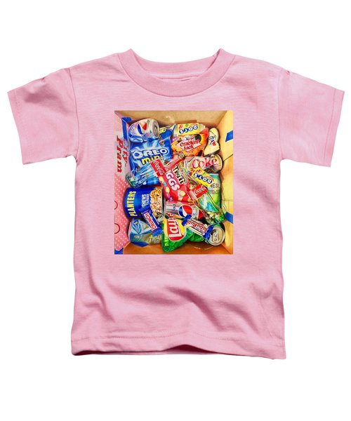 Dibs On The Baby Ruth Toddler T-Shirt