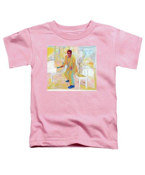 Elton John Toddler T-Shirt by Martin Cohen