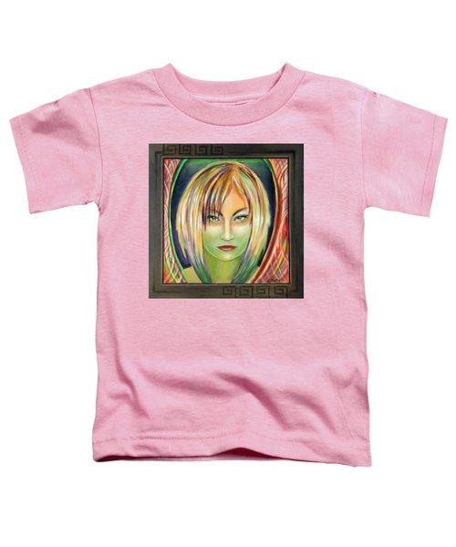 Emerald Girl Toddler T-Shirt