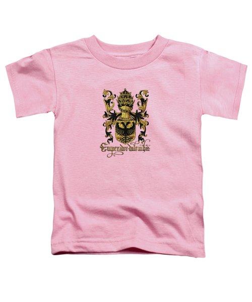 Emperor Of Germany Coat Of Arms - Livro Do Armeiro-mor Toddler T-Shirt