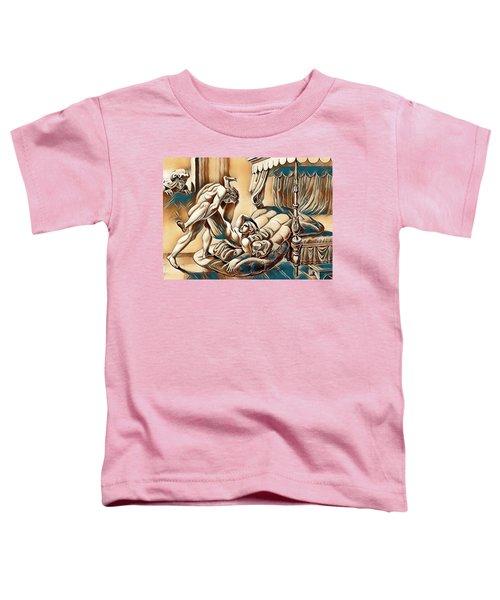 Erotic Abstract Three Toddler T-Shirt