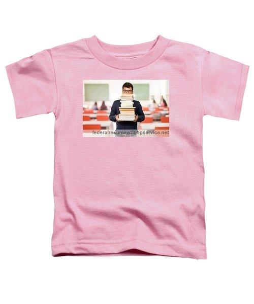 Federal Resume Writing  Toddler T-Shirt