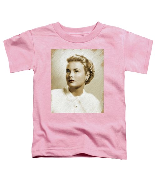 Grace Kelly, Vintage Actress Toddler T-Shirt