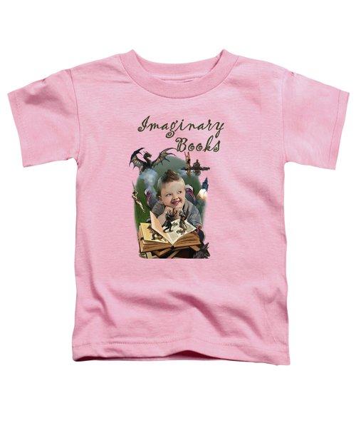 Imaginary Books Toddler T-Shirt by Joseph Juvenal