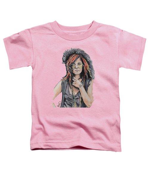 Janis Joplin Toddler T-Shirt