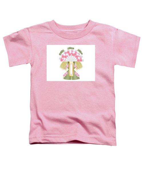 Japanese Newyear Decoration Toddler T-Shirt