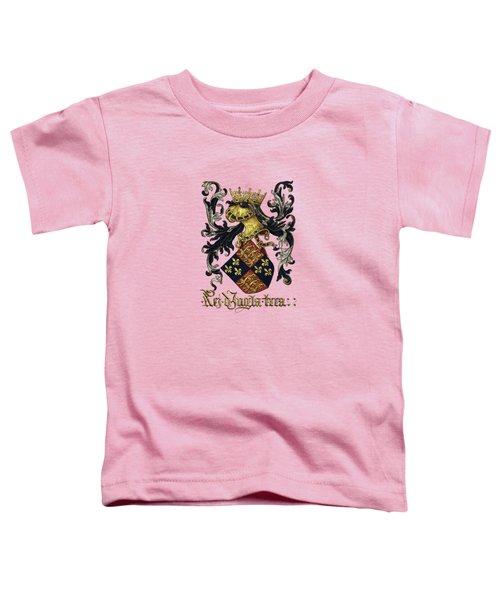 King Of England Coat Of Arms - Livro Do Armeiro-mor Toddler T-Shirt