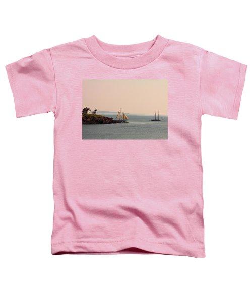 Leaving Camden Harbor Toddler T-Shirt