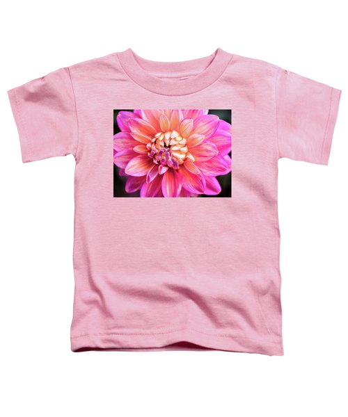 Magenta Dahlia Toddler T-Shirt