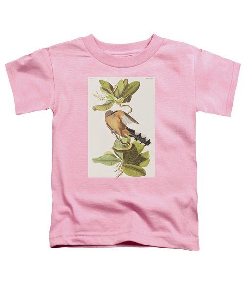 Mangrove Cuckoo Toddler T-Shirt by John James Audubon