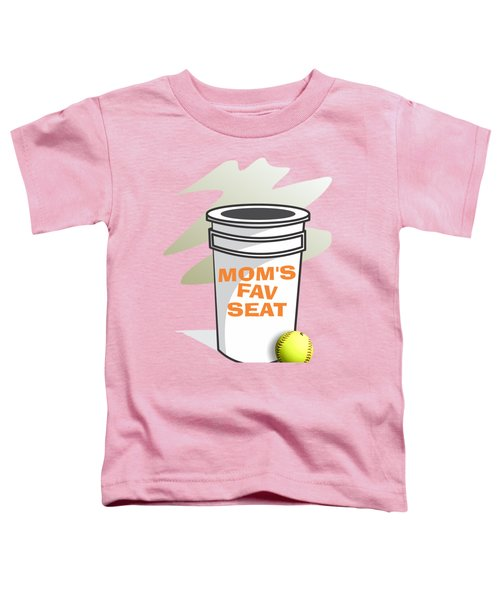 Mom's Favorite Seat Toddler T-Shirt