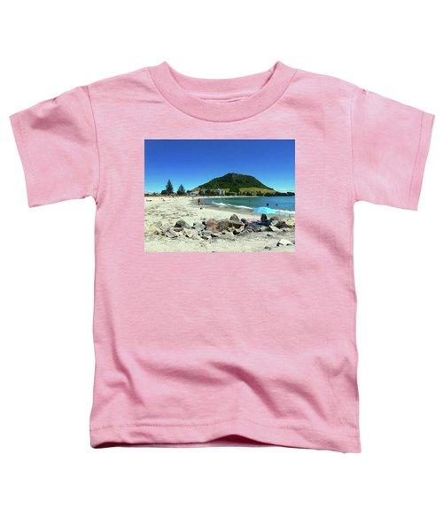 Mount Maunganui Beach 1 - Tauranga New Zealand Toddler T-Shirt