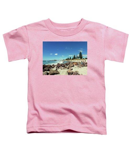 Mount Maunganui Beach 2 - Tauranga New Zealand Toddler T-Shirt