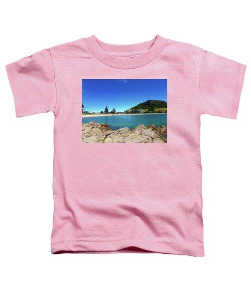 Mt Maunganui Beach 9 - Tauranga New Zealand Toddler T-Shirt
