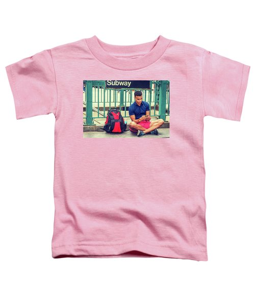 New York Subway Station Toddler T-Shirt