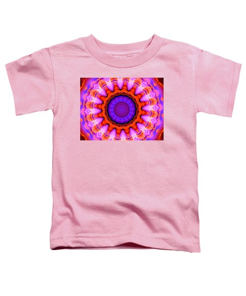 Pink 16-petals Kaleidoscope Toddler T-Shirt