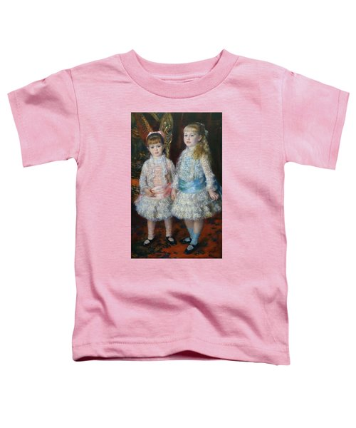 Pink And Blue Toddler T-Shirt
