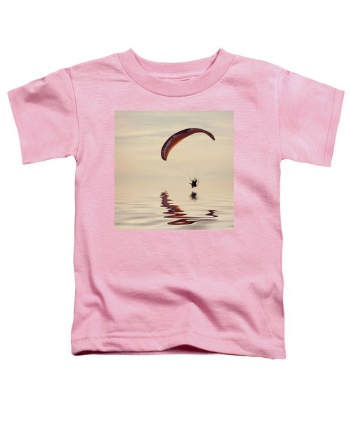 Powered Paraglider Toddler T-Shirt