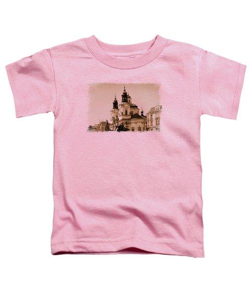 Old Memories Of Prague Toddler T-Shirt