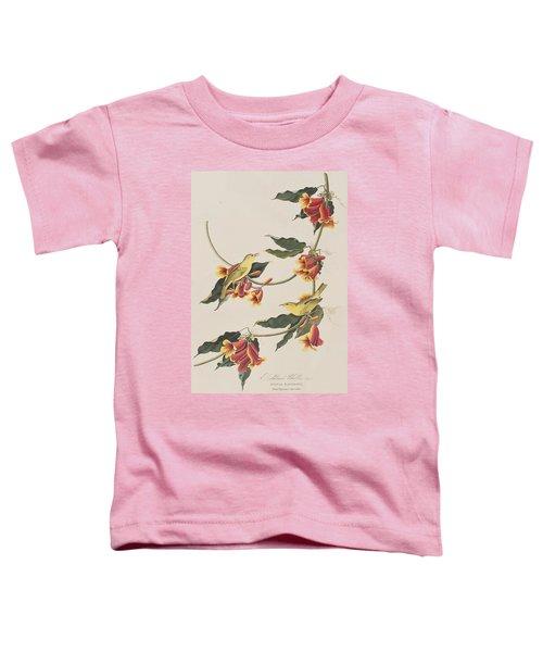 Rathbone Warbler Toddler T-Shirt by John James Audubon