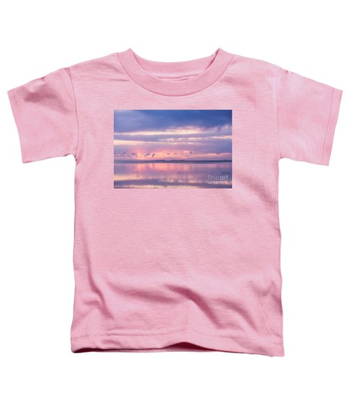 Reflections At Sunset In Key Largo Toddler T-Shirt
